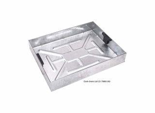 Clark-Drain Manhole C&F Recessed 10T 600x450x100mm CD790R/100