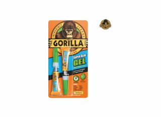 Gorilla Superglue Gel 3g (Pack 2)