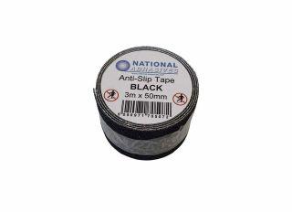 Safety Tread Anti Slip Tape Black 50mmx3m