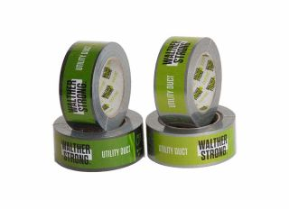 Walther Utility Duct Tape Tough Black 75mmx50m
