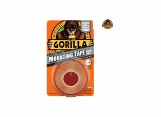 Gorilla Mounting Tape Clear 1.5m