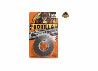 Gorilla Mounting Tape Black 1.5m