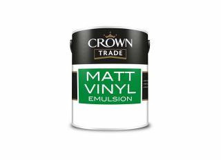 Crown Trade Vinyl Matt Emulsion Magnolia 2.5L