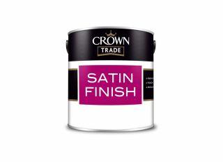 Crown Trade Satin White 1L