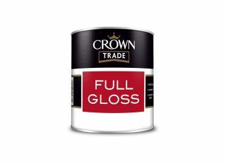 Crown Trade Full Gloss Black 1L