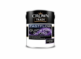 Crown Trade Fastflow Quick Drying Gloss White 5L