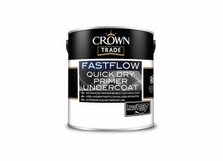 Crown Trade Fastflow Quick Drying Primer Undercoat White 5L