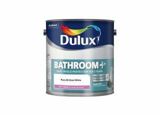 Dulux Bathrooms Sheen Brilliant White 2.5L