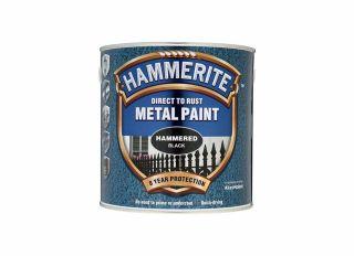Hammerite Hammered Gloss Black 2.5L