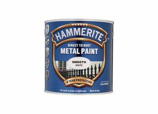 Hammerite Smooth Gloss White 2.5L