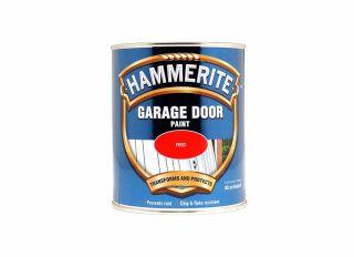 Hammerite Garage Door Paint Red 750ml