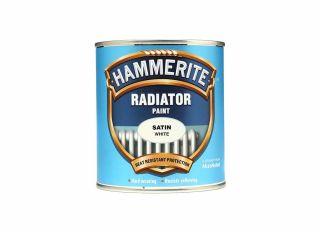 Hammerite Radiator Satin White 500ml