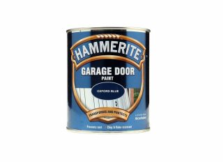 Hammerite Garage Door Paint Oxford Blue 750ml