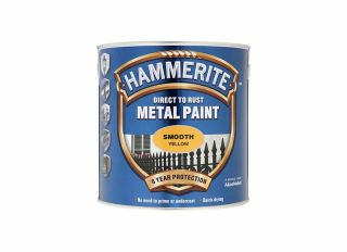 Hammerite Smooth Gloss Yellow 2.5L