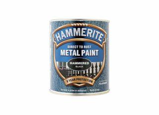 Hammerite Hammered Gloss Black 750ml