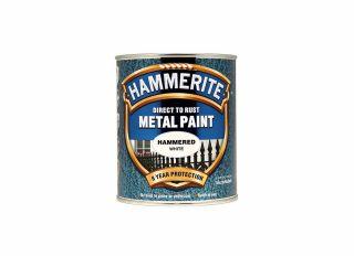 Hammerite Hammered Gloss White 750ml
