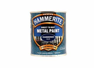 Hammerite Hammered Gloss Blue 750ml