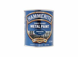 Hammerite Smooth Gloss Blue 750ml