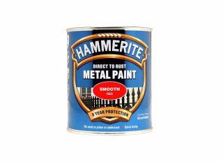 Hammerite Smooth Gloss Red 750ml