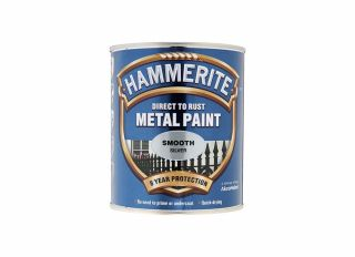 Hammerite Smooth Gloss Silver 750ml