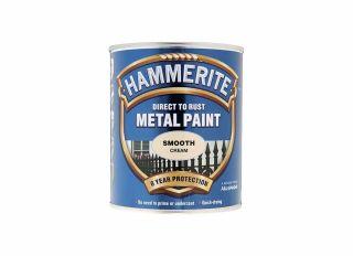 Hammerite Smooth Gloss Cream 750ml