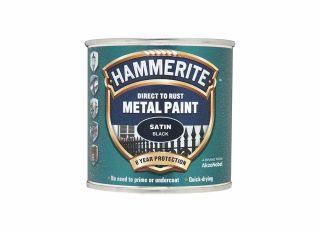 Hammerite Satin Black 250ml