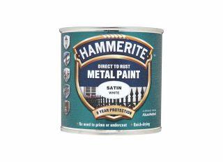 Hammerite Satin White 250ml