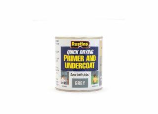Rustins Quick Dry Primer Undercoat Grey 500ml