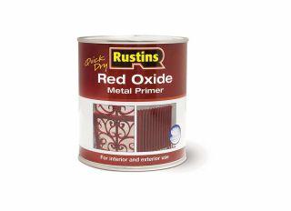 Rustins Red Oxide Primer 500ml