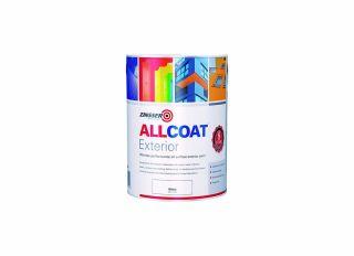 Zinsser AllCoat Exterior Matt Black 2.5L