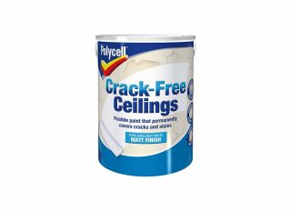 Polycell Crack Free Ceilings 5L