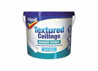 Polycell Textured Ceiling Coarse 5L
