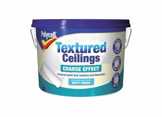 Polycell Textured Ceiling Coarse 2.5L
