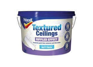 Polycell Textured Ceiling Ripple Finish 2.5L