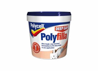 Polycell Deep Gap Filler Tub 1L