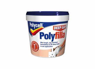 Polycell Deep Gap Filler Tub 1L