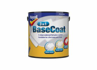 Polycell 3 In 1 Base Coat 2.5L