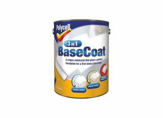 Polycell 3 In 1 Base Coat 5L