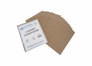 DIY Pack Medium Cabinet Sandpaper (Pack of 5)