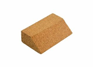 Small Angled Cork Sanding Block