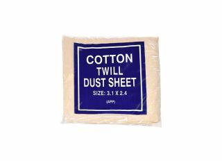 Cotton Twill Dust Sheet 3.1x2.4m