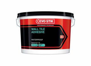 Evo-Stik Tile A Wall Waterproof Adhesive Trade XLarge
