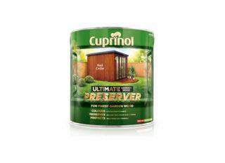 Cuprinol Ultimate Garden Wood Preserver Golden Oak 1L