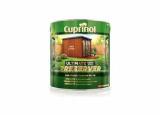 Cuprinol Ultimate Garden Wood Preserver Golden Oak 4L