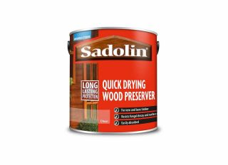 Sadolin Quick Drying Wood Preserver Clear 2.5L