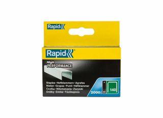 Rapid 140/6 6mm Galvanised Staples (Box 2000)