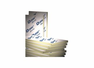 Quinntherm PIR Insulation Cavity Wall Board 1200x450x100mm