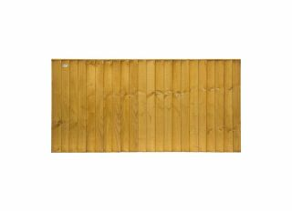 Grange Standard Featheredge Fence Panel Golden Brown 1830 x 915 SFEP3
