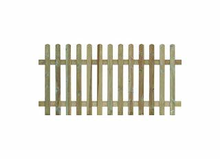 Grange Round Top Palisade Fence Panel 1800 x 1200mm RTP12