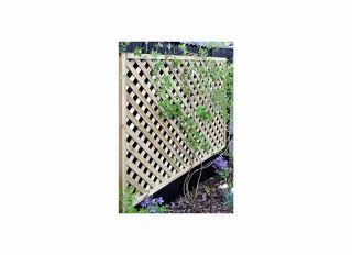 Grange Elite Square Top Trellis Fence 1800 x 1200mm ELTSQL4
